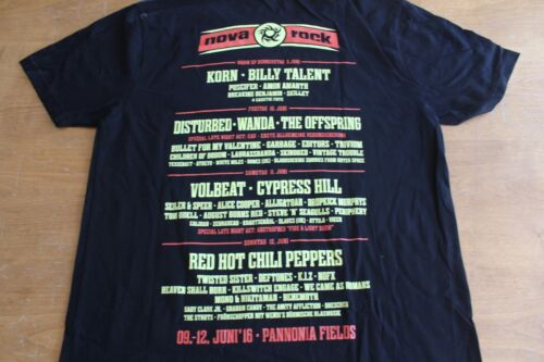 Korn Offspring Cypress Hill RHCP Disturbed / TOUR T-SHIRT #1 /  - Size M - Used