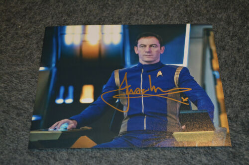 JASON ISAACS signed Autogramm In Person 20x25 cm STAR TREK DISCOVERY