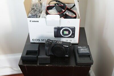 "Canon EOS M3 24.2"" Mirrorless Camera Body Only - Black"