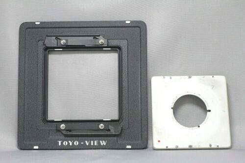 Toyo 6x6 to Graflex Lensboard Adapter w/ Graflex board Clean Used