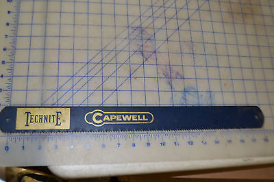 Technite Capewell 17 12 Power Hacksaw 6 Tpi Usa Made T-1806-8