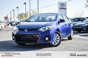 2015 Toyota Corolla S CAM REC*BANCS CHAUF*CRUISE 72.91$/sem