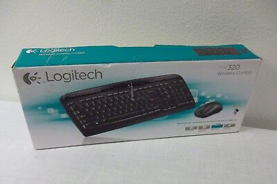HP mk320 Wireless 2.4GHz Multimedia Keyboard + Mouse + Recei