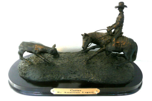 2000 CUTTER AMERICAN LEGACY RODEO SCULPTURE COLLECTION DESIGNED BY BILL FRANK