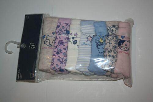 New Gap Girls 7 Pack Panties Bikini Brief Underwear 2 3 Year NWT Unicorn Animals