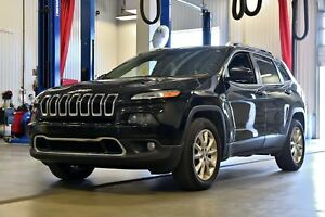 2015 Jeep Cherokee LIMITED * CUIR * HITCH * BANCS VENTILES *