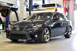 2014 Lexus IS 350 LUXURY * AWD * TOIT * GARANTIE 1 AN 20 000 KM