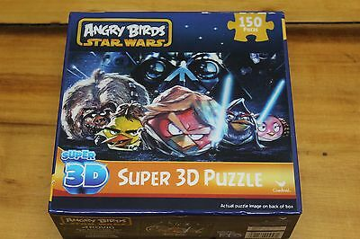 Angry Birds Star Wars 3D Puzzle 150 Pieces NIB