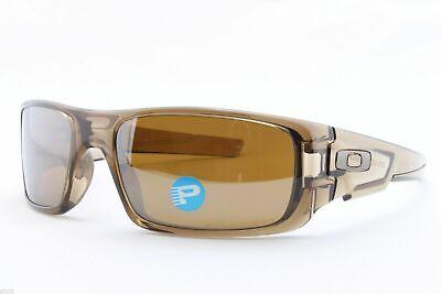 Oakley Crankshaft POLARIZED Sunglasses OO9239-07 Brown Smoke W/ Tungsten (Oakley Brown)