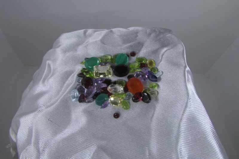 50 CTW Mixed Gemstone Dealers Parcel