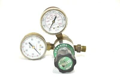 Generico 210x2 Compressed Gas Regulator. Oxygen 540 Cga