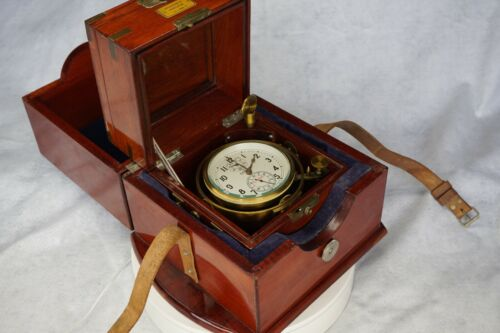Russian Marine Chronometer with both boxes