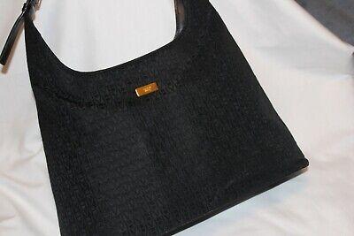 Victor Hugo Monogram Logo Shoulder Bag Purse