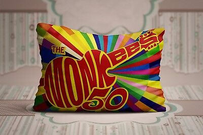 (Cool The Monkees Good Times Rock Band Legend Zippered Pillow Cases 20X30)