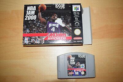 Nintendo 64 *NBA Jam 2000* N64 OVP Sehr guter Zustand leichte Beschädigungen Rar