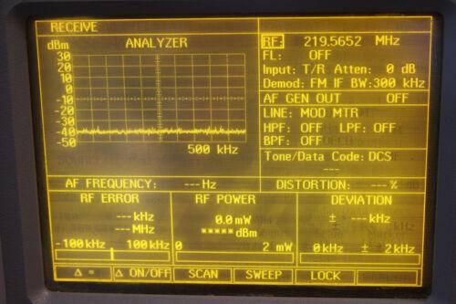 IFR/ AEROFLEX COM120A