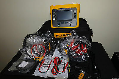 Fluke 1730 US Three Phase Portable Electrical AC Power Energy Logger Record Kit