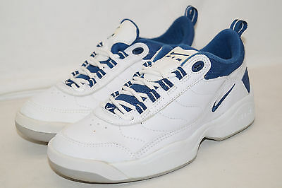 NIKE WMNS AIR RECKONING INDOOR TENNIS 1998 Gr.38,5weiss blau 141073 141