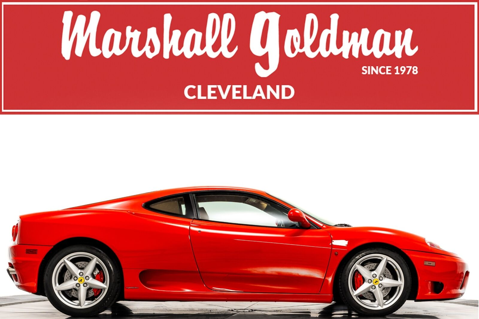 2003 Ferrari 360 Modena  Coupe 3.6L DOHC V8 400hp 276ft. lbs. 6-Speed F1