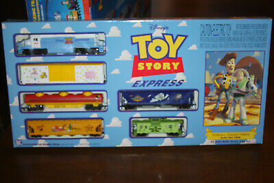 NEW Disney Toy Story Express 1996 HO Scale Model Electric Train Set - Collectors