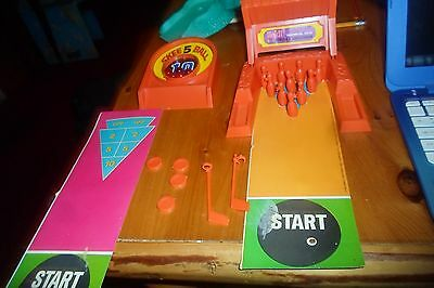VINTAGE 1967 Remco HEIDI Pocketbook Doll Play Set 3 in One BOWLING Game