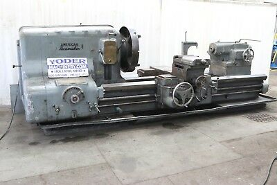 46 X 84 American Engine Gap Lathe Stock 69930