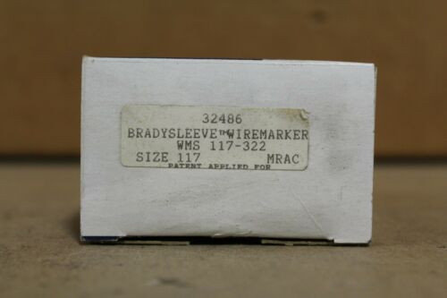 Brady WMS-117-322 Sleeve Wire Maker