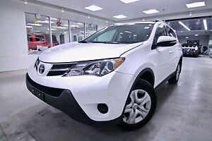 2014 Toyota RAV4  LE,ONE OWNER VEHICLE,CLEAN CARPROOF,NON SMOKER