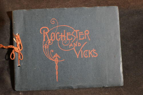 VINTAGE Souvenir of Rochester NY by James Vick