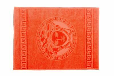 Versace Home Medusa Designed Red Face Towel