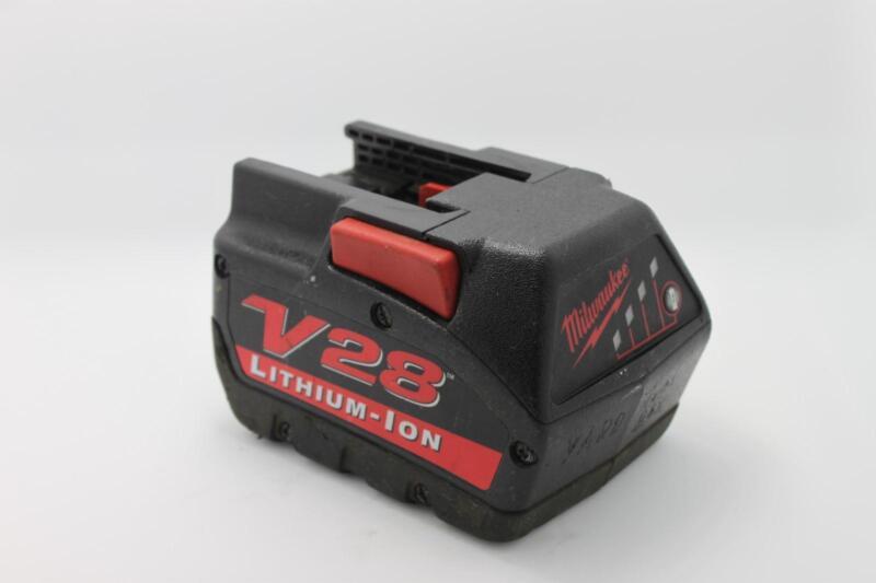 Milwaukee Li-lon Electric Power Tools Battery V28 48-11-2830 28v Refurbished