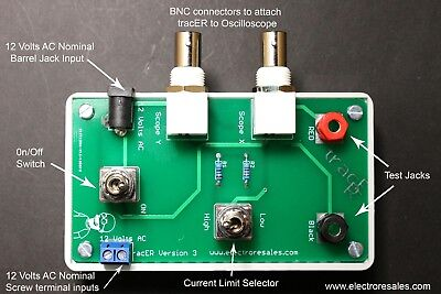 Dual Range Transistor Diode Semiconductor Passive Curve Tracer Testertracker