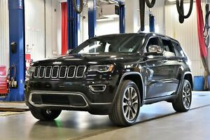 2018 Jeep Grand Cherokee * LIMITED * LUXE * V6 * TOIT PANO * GPS
