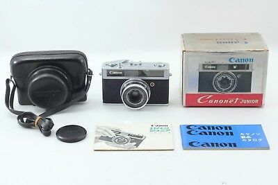 【MINT in BOX】Canon Canonet Junior 40mm F2.8 Vintage Rangefinder from JAPAN #191
