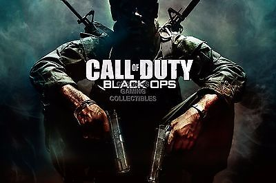 RGC Huge Poster - Call of Duty Black Ops PS4 PS3 XBOX ONE 360 III II - (Call Of Duty Black Ops Ii Ps4)