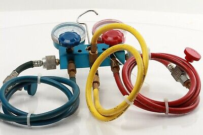 Used - 134a Charging Hose Set With Manifold Set