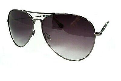 Maui Jim Mavericks Polarized Titanium Sunglasses GS264-02 Black/grey Aviator