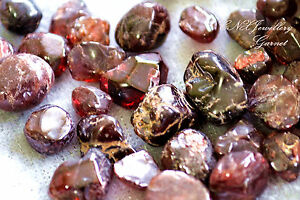 Tumbled Gemstone Crystal Natural Garnet 5g