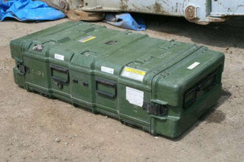"34"" x 22"" x 11"" Pelican Hardigg Military Heavy Duty Hard Plastic Cases"
