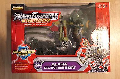 Transformers Energon Alpha Quintesson Powerlinx Hasbro, MEGA Action Figure NIB