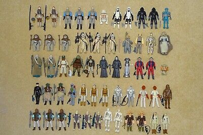 COMPLETE VINTAGE STAR WARS FIGURES WITH ORIGINAL ACCESSORIES (YOU CHOOSE)