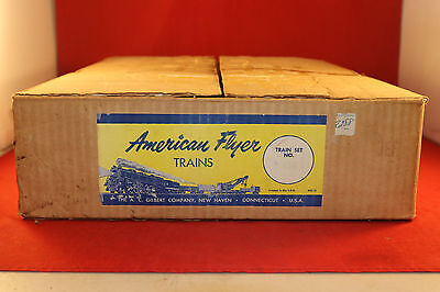 1956 AMERICAN FLYER S GAUGE 5615-T 303 STEAM FREIGHT SET IN ORIGINAL BOX