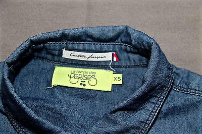 Jolie chemise en jeans fin le temps des cerises taille xs excellent État