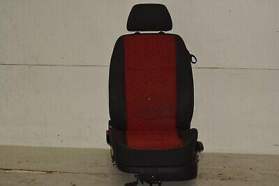 VW Lupo Sitz Fahrersitz links Stoff Rot schwarz Höhenverstellbar 6X3881105B, gebraucht gebraucht kaufen  Delitzsch