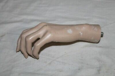 Vintage Mannequin Left Hand Female With Bent Fingers