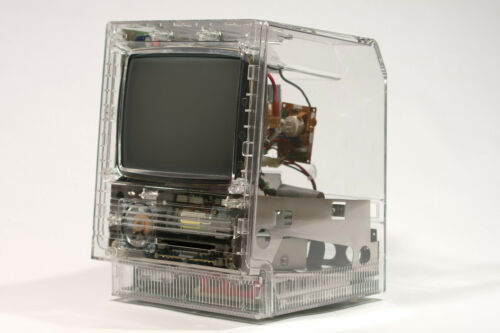 Rev B MacEffects Custom CLEAR Case for Apple Macintosh Mac SE & SE/30