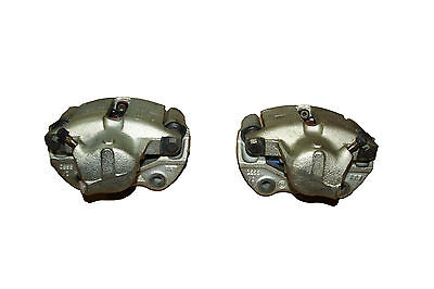 2 Brake Calipers + Bracket + Linings Audi 100 C2 78-83 + Coupe 81 Girling