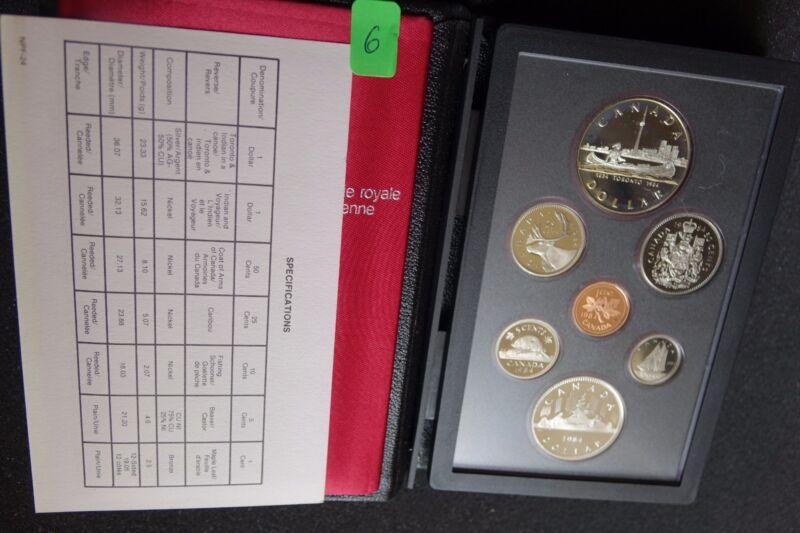 Canada / Canada KMS Kursmünzensatz Coin Set 1984 PP Proof