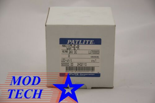 Patlite LU7-E-R Visual Warning Device New