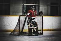 Goalie for hire